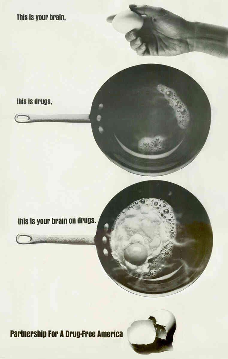 Social marketing example - 1987 drug ad
