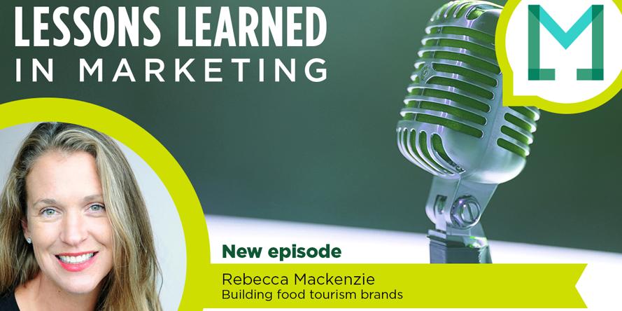 "Branding ""a taste of place"" with Rebecca Mackenzie"